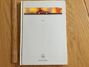 1998 Mercedes SL brochure For Sale