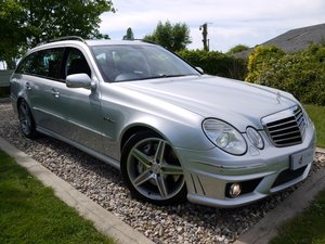 Mercedes E63 AMG Estate History Last Owner 10yrs