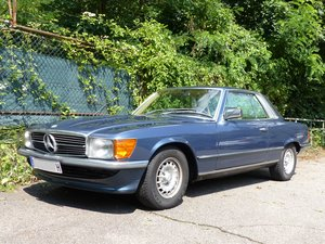 Picture of 1980 beautiful Mercedes Coupé 380 SLC with sunroof & alloy-rims SOLD