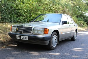 Mercedes 190E Auto 1990 - To be auctioned 30-10-20