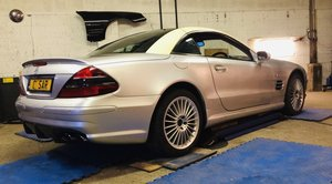 2002 Mercedes sl 55 amg sprint project unfinished