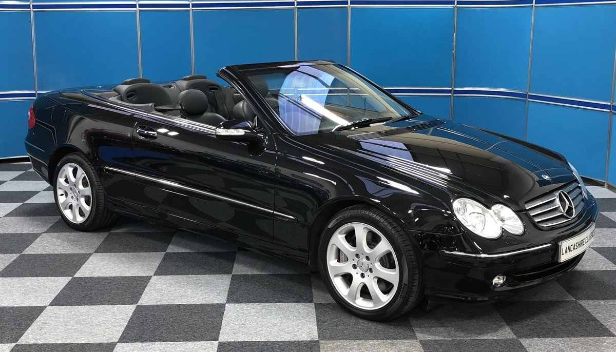 2006 Mercedes CLK500 Convertible SOLD (picture 1 of 6)