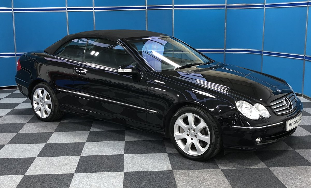 2006 Mercedes CLK500 Convertible SOLD (picture 2 of 6)