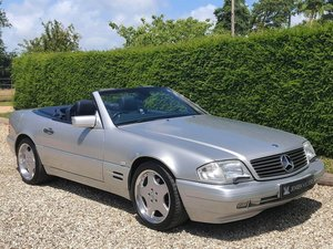 1997 Mercedes SL320 R129 **Panoramic Roof, AMG Alloys, 3 Owners** For Sale