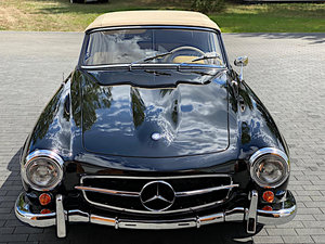 1960 MB 190SL W121 RESTORED A1 CLASSIC DATA For Sale