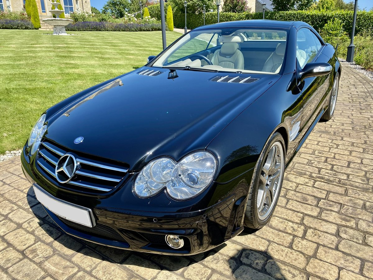 2007 SOLD - Mercedes SL55 AMG F1 Performance Pack  SOLD (picture 4 of 6)