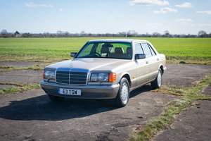 1988 Mercedes W126 420SEL - FSH (34 Stamps) - Immaculate
