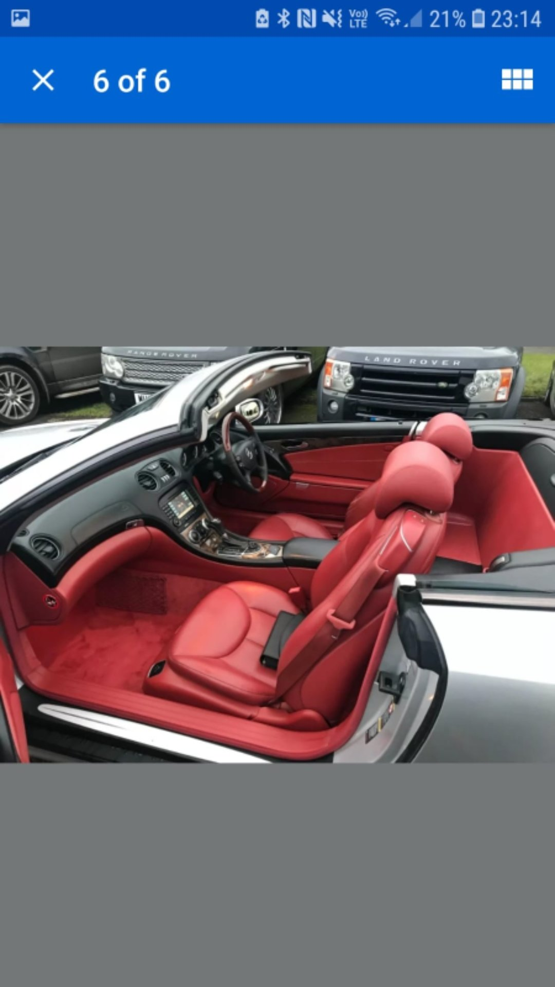 2005 MINT CONDITION MERCEDES SL   For Sale (picture 2 of 4)