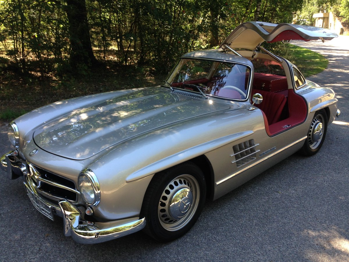 2001 Mercedes gullwing For Sale (picture 1 of 6)