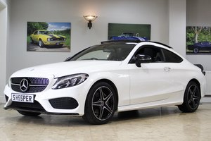2017 Mercedes-Benz C Class Coupe C220 AMG Line 9G-Tronic