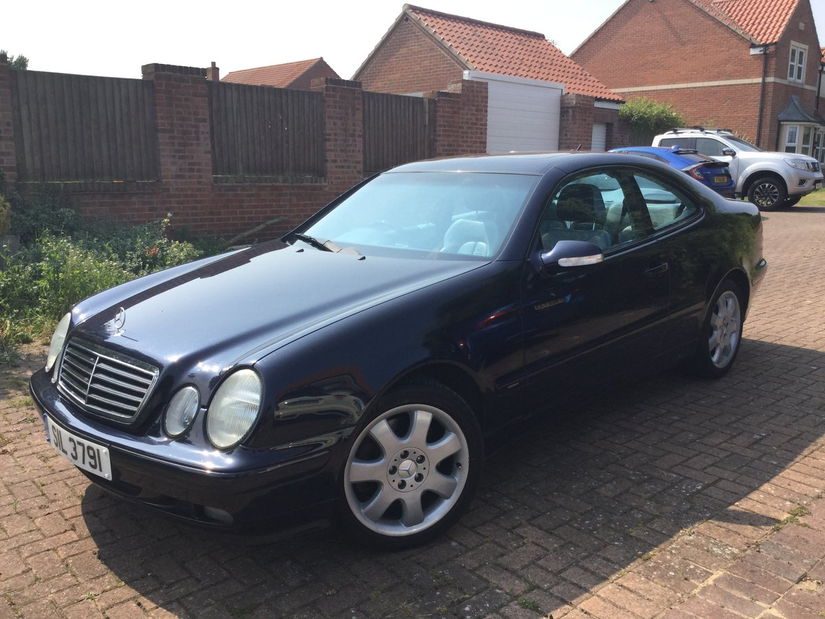 2000 Excellent Mercedes 430clk coupe For Sale (picture 2 of 6)