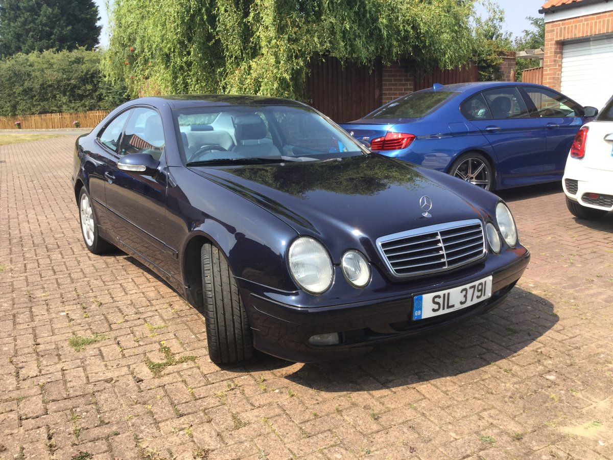 2000 Excellent Mercedes 430clk coupe For Sale (picture 3 of 6)