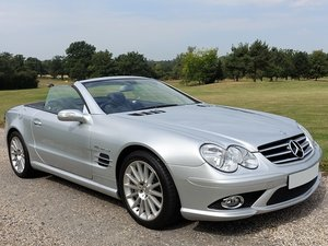 2006/06 Mercedes SL55 AMG - Silver/Blk - 21k mls - 2 Owners For Sale