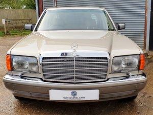 23,000 Miles - Rare Manual - Mercedes 300 SE W126 - Timewarp