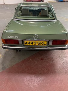 Mercedes 280 SLFOR AUCTION 31OCT 2020 Dublin