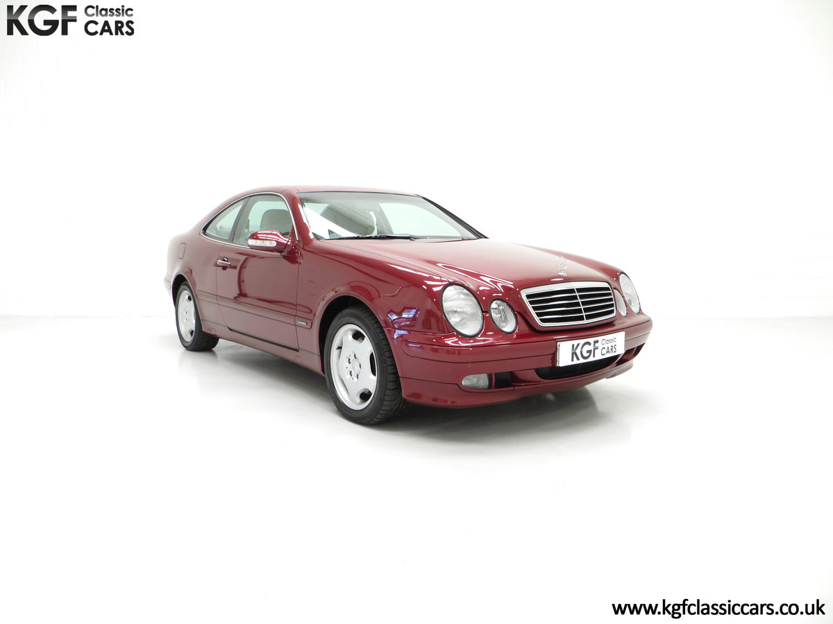 2000 Mercedes-Benz CLK320 Elegance with Two Owners & 42,686 Miles SOLD (picture 1 of 24)