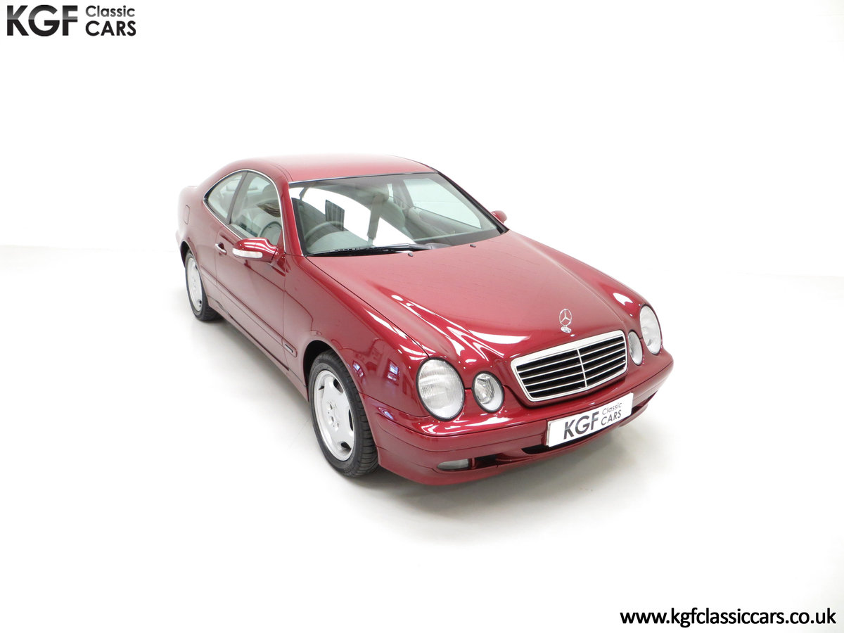 2000 Mercedes-Benz CLK320 Elegance with Two Owners & 42,686 Miles SOLD (picture 2 of 24)