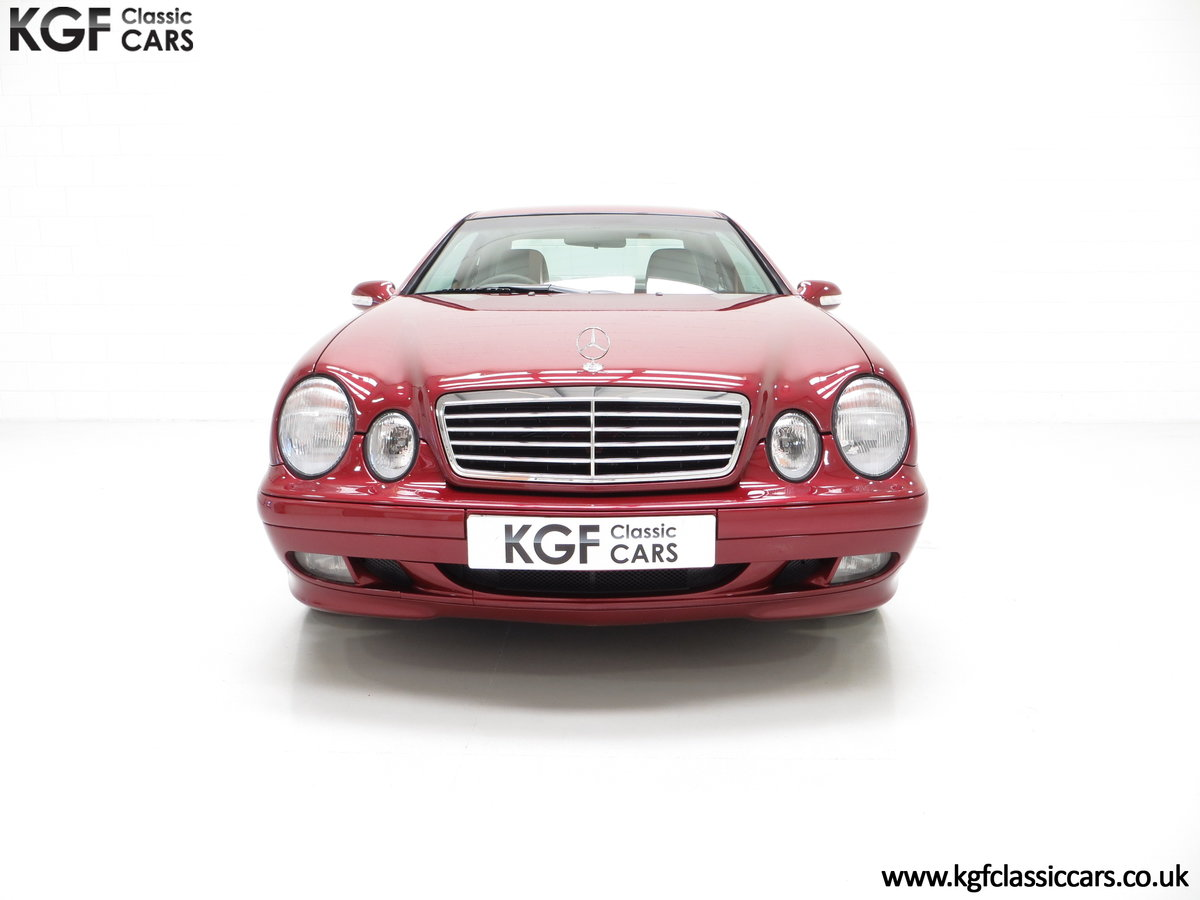 2000 Mercedes-Benz CLK320 Elegance with Two Owners & 42,686 Miles SOLD (picture 3 of 24)