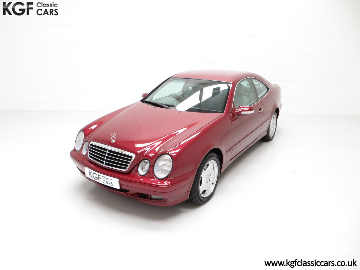 2000 Mercedes-Benz CLK320 Elegance with Two Owners & 42,686 Miles SOLD (picture 5 of 24)