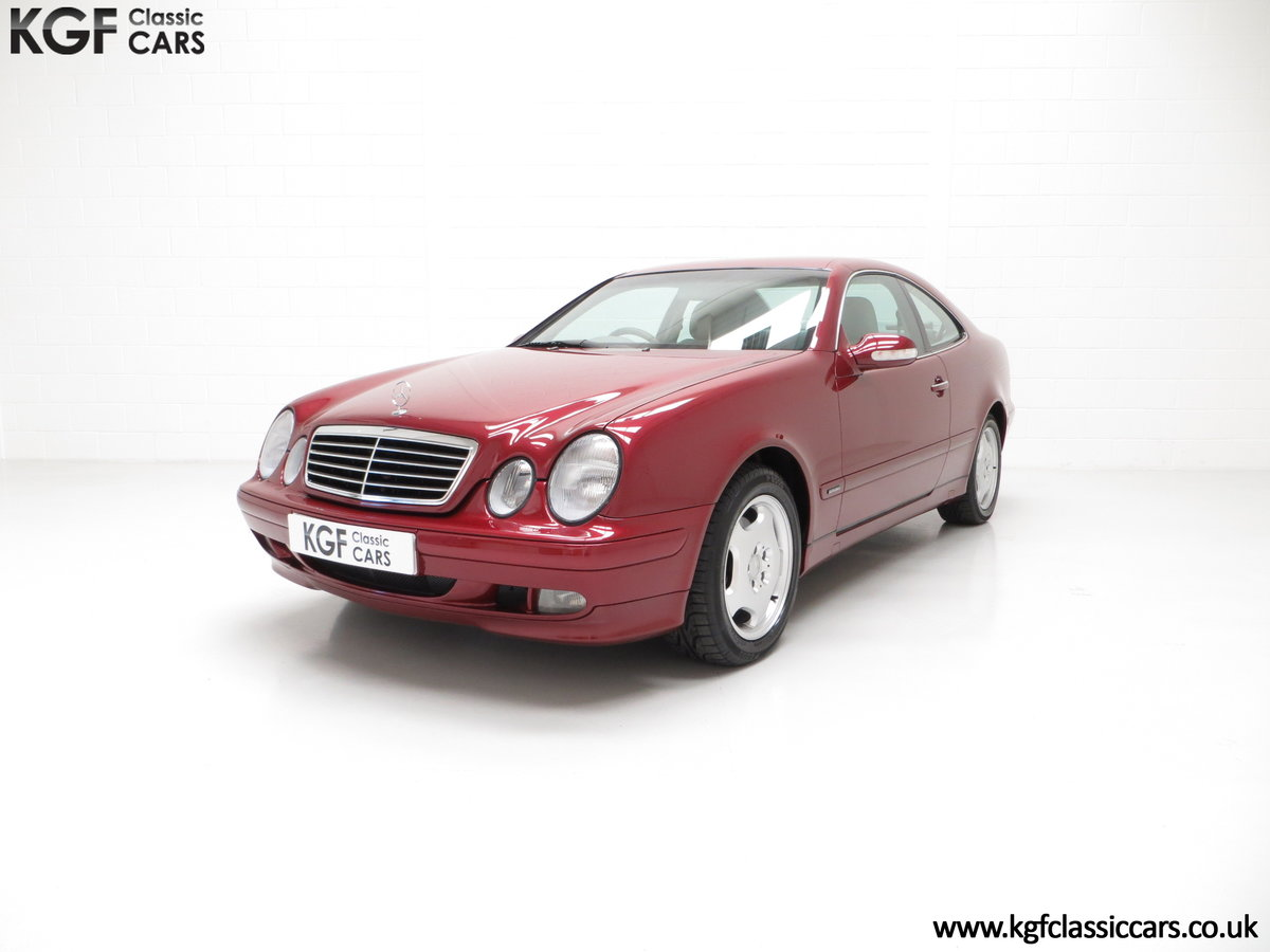 2000 Mercedes-Benz CLK320 Elegance with Two Owners & 42,686 Miles SOLD (picture 6 of 24)