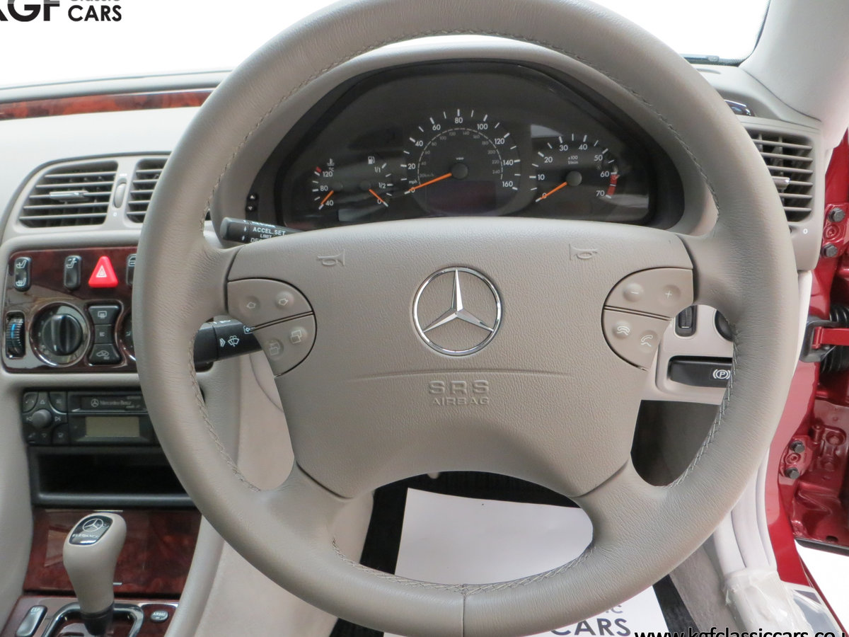 2000 Mercedes-Benz CLK320 Elegance with Two Owners & 42,686 Miles SOLD (picture 22 of 24)