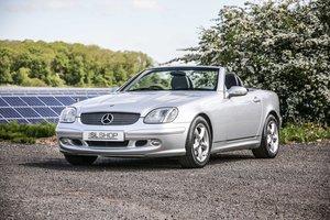 2000 Mercedes Benz SLK 320 (R170) #2201 Rare Quartz Siam Leather For Sale