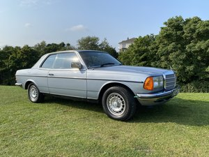 Picture of 1984 Mercedes 230 CE Coupe W123 Series last owner 24 years