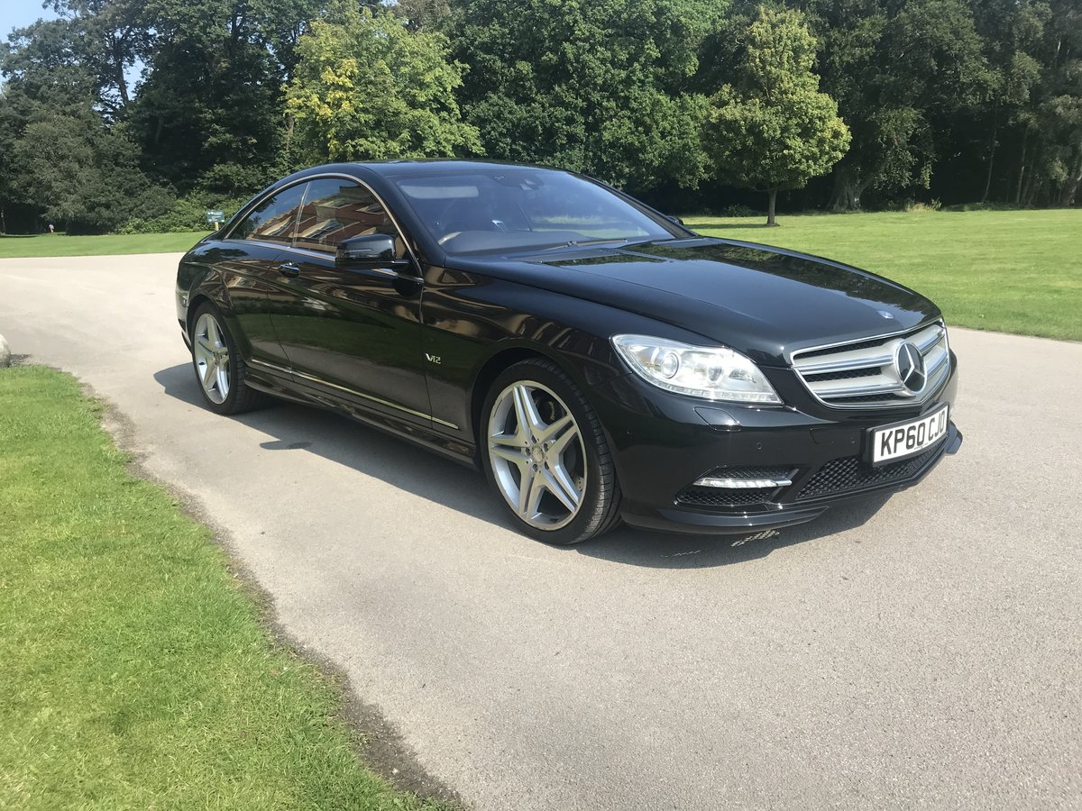 2010 Mercedes CL 600 V12 AMG 5.5 bi Turbo 2011 Model For Sale (picture 2 of 6)