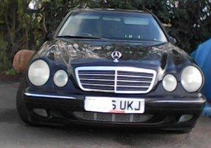 2000 Mercedes estate long mot