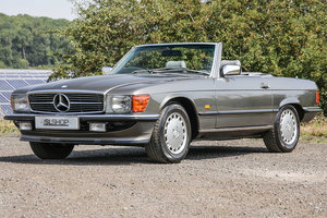 Picture of 1987 Mercedes-Benz 300SL (R107) rare Anthracite Grey #2170