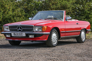 Picture of 1989 Mercedes-Benz 300SL (R107) Signal Red *Just 29k Miles!* SOLD
