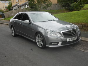 2010 Mercedes E350 CDI Sports 7G Automatic SOLD