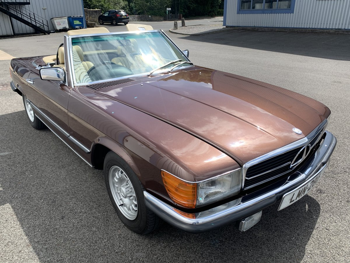 1982 MERCEDES 280SL  SPORTS  W107 For Sale (picture 4 of 6)