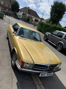 Picture of 1972 Mercedes 350 SLC Fully Restored! For Sale