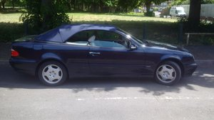 Picture of Mercedes benz clk convertible. 52000 miles