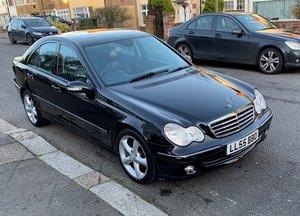 2005 (55) Mercedes-Benz C180K Only 1 F/Owner