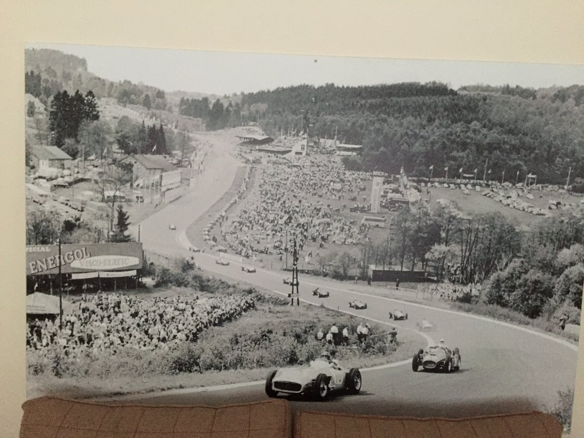 Stunning classic f1 spa belgium juan fangio SOLD (picture 1 of 2)