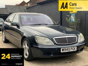 Picture of 2000 Mercedes-Benz S Class 5.0 S500 4dr AWAITING DELIVERY For Sale