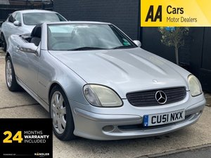 Picture of 2001 Mercedes-Benz SLK 2.0 SLK200 Kompressor 2dr For Sale