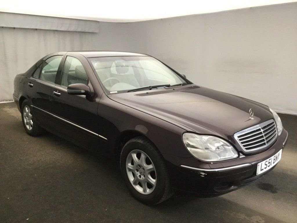 2001 Mercedes-Benz S Class 2.8 S280 4dr For Sale (picture 1 of 3)