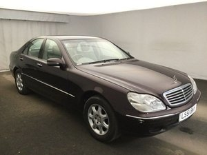 Picture of 2001 Mercedes-Benz S Class 2.8 S280 4dr For Sale