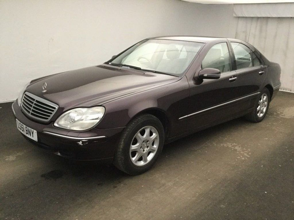 2001 Mercedes-Benz S Class 2.8 S280 4dr For Sale (picture 2 of 3)