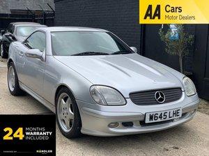 Picture of 2000 Mercedes-Benz SLK 3.2 SLK320 2dr For Sale