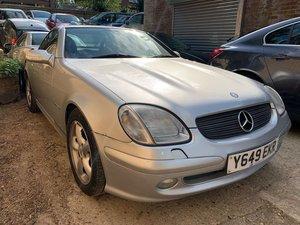 Picture of 2001 Mercedes-Benz SLK 2.3 SLK230 Kompressor 2dr For Sale