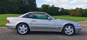 Mercedes sl500 r129 39k miles 99 t plate fmbsh a1