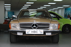 Mercedes 450SL with hardtop - Stunning