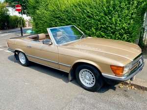 Mercedes R107 280SL 1980 Convertible Gold Auto