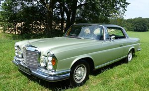 1970 Mercedes-Benz 280 SE - flat cooler coupé with classic charm For Sale