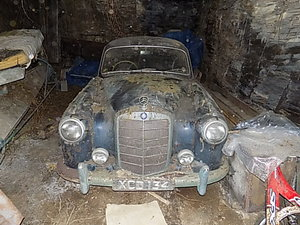 1956 Mercedes-Benz 'Ponton' Barn find For Sale