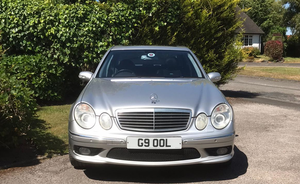 Mercedes E55 W211- 5.5Ltr.- Supercharged-AMG .
